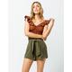 O'NEILL Cameron Paperbag Waist Womens Shorts