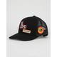 RVCA Freedom Black Mens Trucker Hat