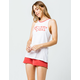 FOX Onlookr Red Womens Shorts