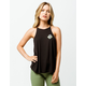 VOLCOM Puff And Stuff High Neck Womens Tank Top