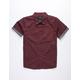 SHOUTHOUSE La Brea Burgundy Boys Shirt