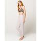 CALVIN KLEIN Jersey Gray Womens Sweatpants