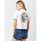 VOLCOM Made From Stoke Womens Crop Pocket Tee
