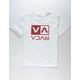 RVCA Flip Box White Boys T-Shirt