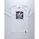 ADIDAS Lotus Blackbird White Boys T-Shirt