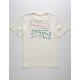 RVCA Offset Off White Boys T-Shirt
