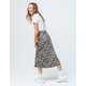KNOW ONE CARES Ditsy Floral Midi Skirt