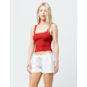 ROXY Oceanside White Womens Beach Shorts