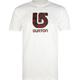 BURTON Printed Plaid Mens T-Shirt