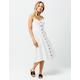 RIP CURL My Tide White Midi Dress