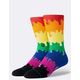 STANCE Drip Rainbow Mens Crew Socks