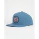RVCA Navigate Light Blue Mens Snapback Hat