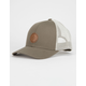 RVCA Twill Olive Green Mens Trucker Hat