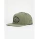 RVCA Olympic Green Mens Snapback Hat