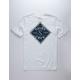 SALTY CREW Tippet Triad White Boys T-Shirt