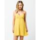 VOLCOM Hey Bud Citron Dress