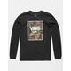 VANS Camo Print Box Boys T-Shirt