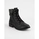 QUPID Zion Womens Combat Boots