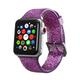 ELEMENT WORKS 38mm Purple Glitter Silicone Apple Watch Wristband