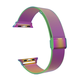 ELEMENT WORKS 42mm Milanese Loop Stainless Steel Rainbow Apple Watch Wristband