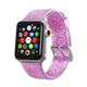 ELEMENT WORKS 38mm Pink Glitter Silicone Apple Watch Wristband