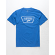 VANS Full Patch Royal Boys T-Shirt