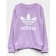 ADIDAS OG Trefoil Purple Girls Sweatshirt