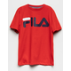 FILA Basic Red Girls Tee