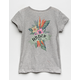 DISNEY x ROXY Stars Don't Shine Gray Girls Tee