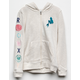 DISNEY x ROXY My Fins Girls Zip Hoodie