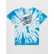 SANTA CRUZ Missing Dot Tie Dye Girls Tee