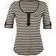 FULL TILT Stripe Womens Top