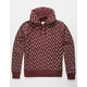 CHAMPION Life® Reverse Weave All-Over Logo Maroon Mens Hoodie