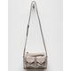 VIOLET RAY Jill Light Gray Crossbody Bag