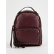 VIOLET RAY Tanya Studded Wine Mini Backpack