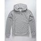 CHAMPION Life Reverse Weave All-Over Logo Oxford Gray Mens Hoodie