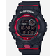 G-SHOCK 800-1 Black & Red Watch