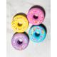 4 Pack Donut Bath Bombs