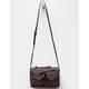 VIOLET RAY Jill Wine Crossbody Bag