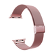 ELEMENT WORKS 42mm Milanese Loop Stainless Steel Rose Apple Watch Wristband