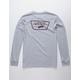 VANS Full Patch Back Heather Gray Boys T-Shirt