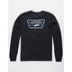 VANS Full Patch Back Black Boys T-Shirt