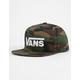 VANS Drop VII Camo Boys Snapback Hat