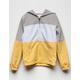 FULL TILT Color Block Yellow Girls Windbreaker Jacket