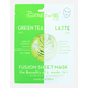THE CREME SHOP Green Tea & Latte Fusion Sheet Mask