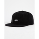 VANS Salton Jockey Black Mens Strapback Hat