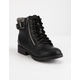 SODA Surge Girls Combat Boots
