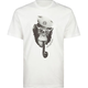 CAPTAIN FIN Monkey Stencil Mens T-Shirt