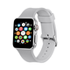 ELEMENT WORKS 38mm Gray Apple Watch 1 & 2 Series Sport Band