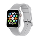 ELEMENT WORKS 42mm Gray Apple Watch 1 & 2 Series Sports Band